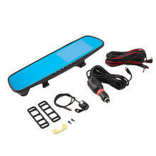Hot Black 4.3 Inch TFT Display 170 Degree Wide Angle Car Rearview Mirror Monitor Car Parking Monitor Mirror With Night Vision