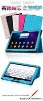 Ultra Slim 3 Fold Mangetic Closure Sleep Silk Grain Flip Stand PU Leather Cover Smart Case
