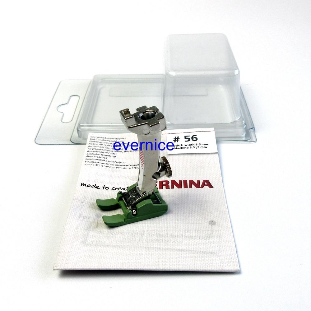 Echt Bernina Teflon Open Borduurwerk Voet #0084807400 (56N) Nieuwe Stijl Machine-in Naai Hulpmiddelen & Accessoires van Huis & Tuin op  Groep 1