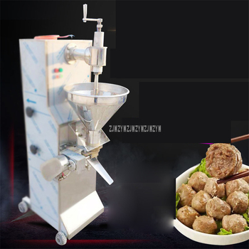 Automatic Beef Ball Maker Machine Commercial 160-220pcs/min Round Beef Meat Ball Processing Making Equipment 24mm 28mm 30mm 1