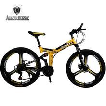 KUBEEN DLANT 21-speed rowery podwójne hamulce tarczowe rower górski 26-calowe ze stali o zmiennej prędkości drogowe rowery wyścigi rowerów