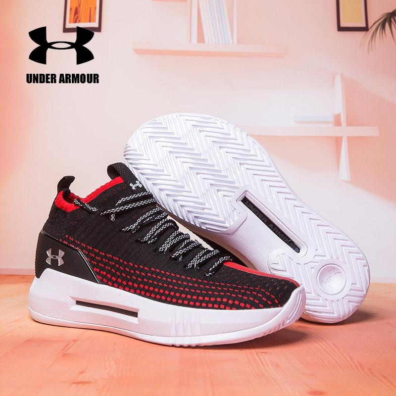 282a92e2a24 Hot Sale Under Armour Men Basketball Shoes UA Heat Seeker Zapatillas  Outdoor Sneakers Man Athletic Sport Shoes 40-46