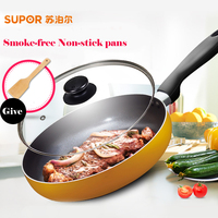 SUPOR Healthy Coatingand Induction Cooking Panela Stainless Steel Pans Frying Pan For Eggs Non Stick Cooking
