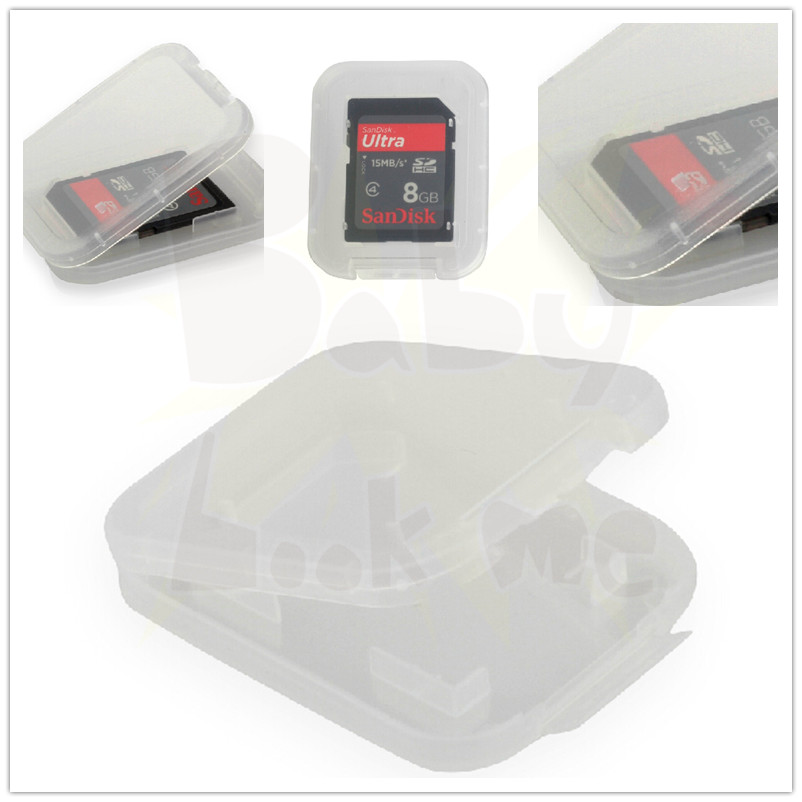Wholesale Storage Plastic Holder Case Box For Memory Micro