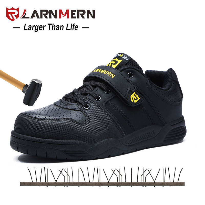 LARNMERN Mens Safety Shoes Steel Toe Working Safety Shoes For Men Breathable Outdoor Ankle Sneaker FootwearLARNMERN Mens Safety Shoes Steel Toe Working Safety Shoes For Men Breathable Outdoor Ankle Sneaker Footwear