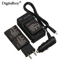 3 Pcs DMW BLH7 BLH7PP BLH7E 1000mAh Rechargeable Battery Charger For Panasonic Lumix DMC GM1 GM1