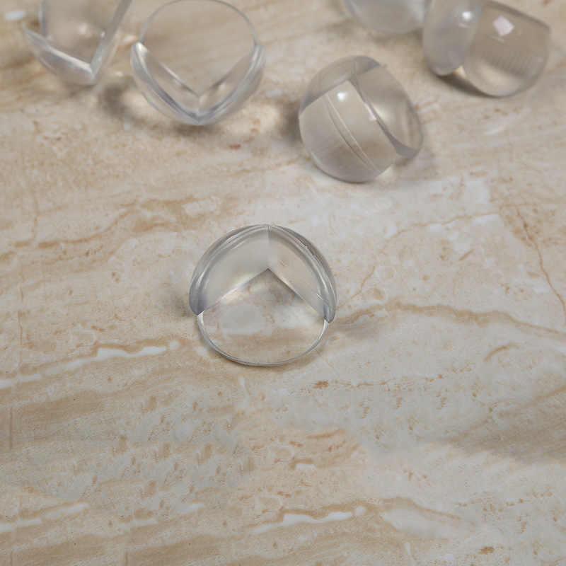 HYUUGA 4 шт Защитные сферические прозрачные столы для защиты от столкновений силиконовые защитные детские рукава