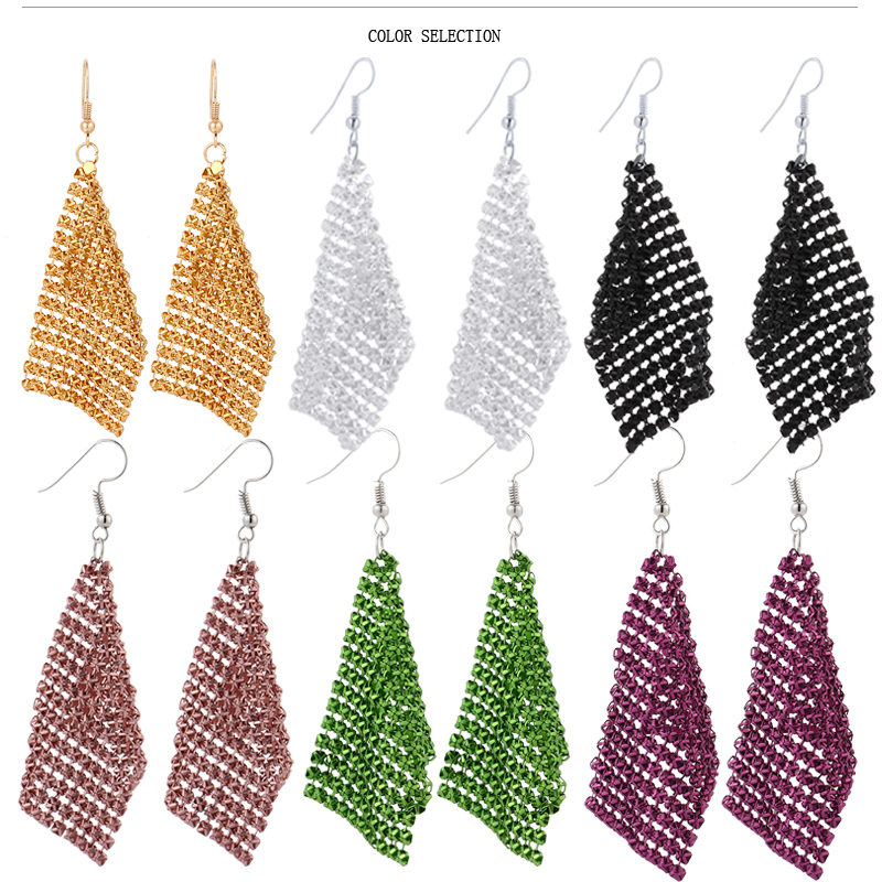 Pendientes colgantes largos CACANA para mujer borla estilo bohemio bisutería de moda gran oferta No. A501