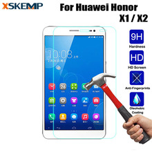 For Huawei Honor X1 X2 7.0″ Ultra Thin LCD Premium Explosion-Proof Toughened Real Tempered Glass No Fingerprint Screen Protector