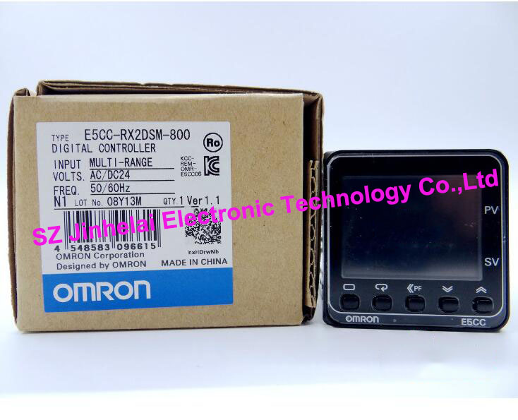 100% New and original E5CC-RX2DSM-800 OMRON Digital Controller AC/DC24 все цены