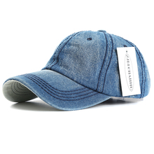 ZJBECHAHMU Summer Casual Solid Denim Brand Men Women Adjustable Baseball caps Vintage Snapback Hats 2019 New Apparel Accessories