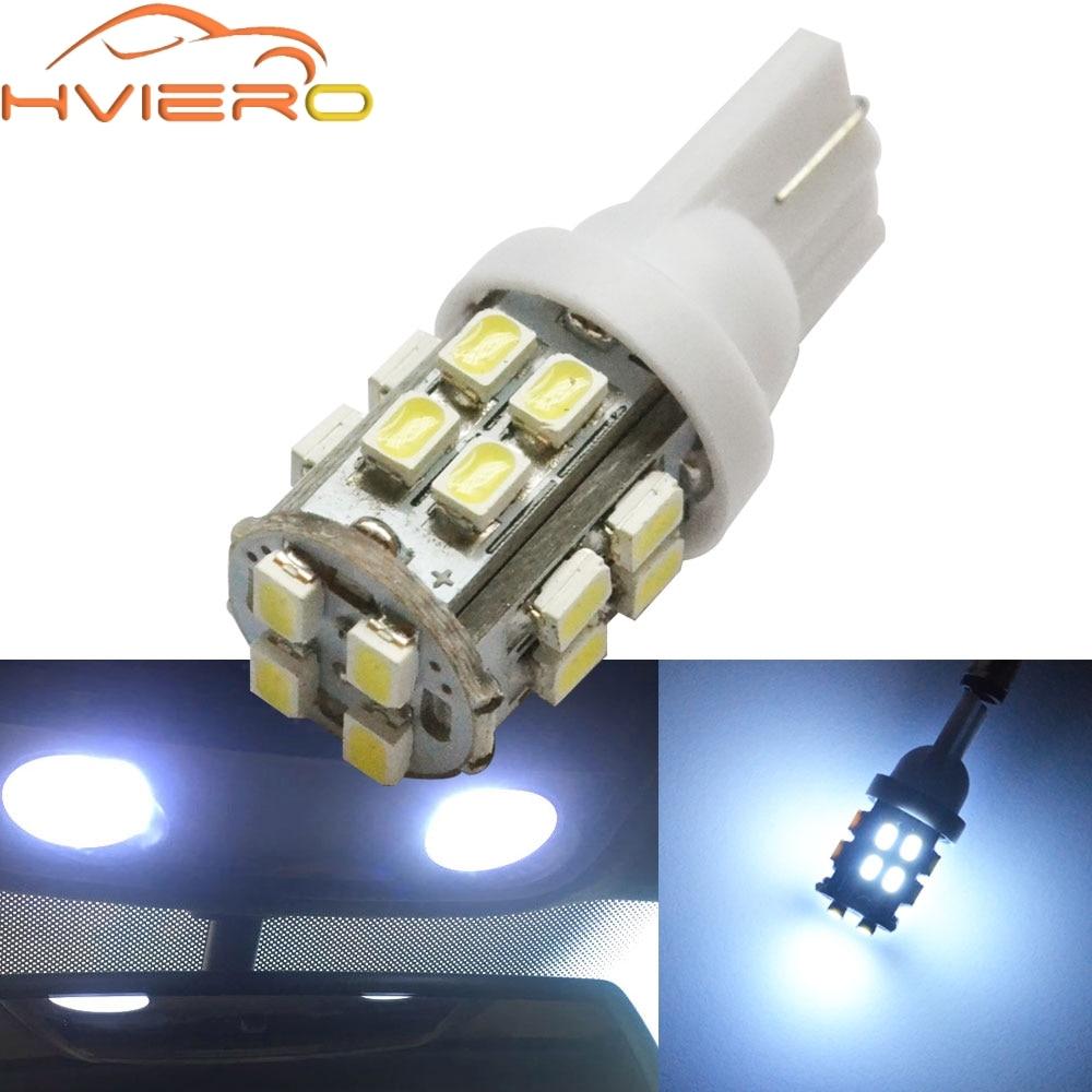Motorhome Campervan 10 White LED Interior Light 1W 100LM 12V 24V DC