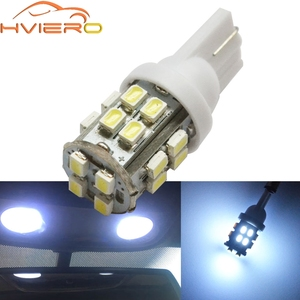 T10 W5W 20Led Turn Signal License Plate Light White Car Wedge LED Truck Light 194 168 Auto Vehicle Clearance Lamp Reading Bulb