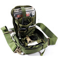Outdoor Travel Tactical Organizer Bag Tactical EDC Messenger Bags With Single Shoulder Strap Black/CP/TAN/Army Green