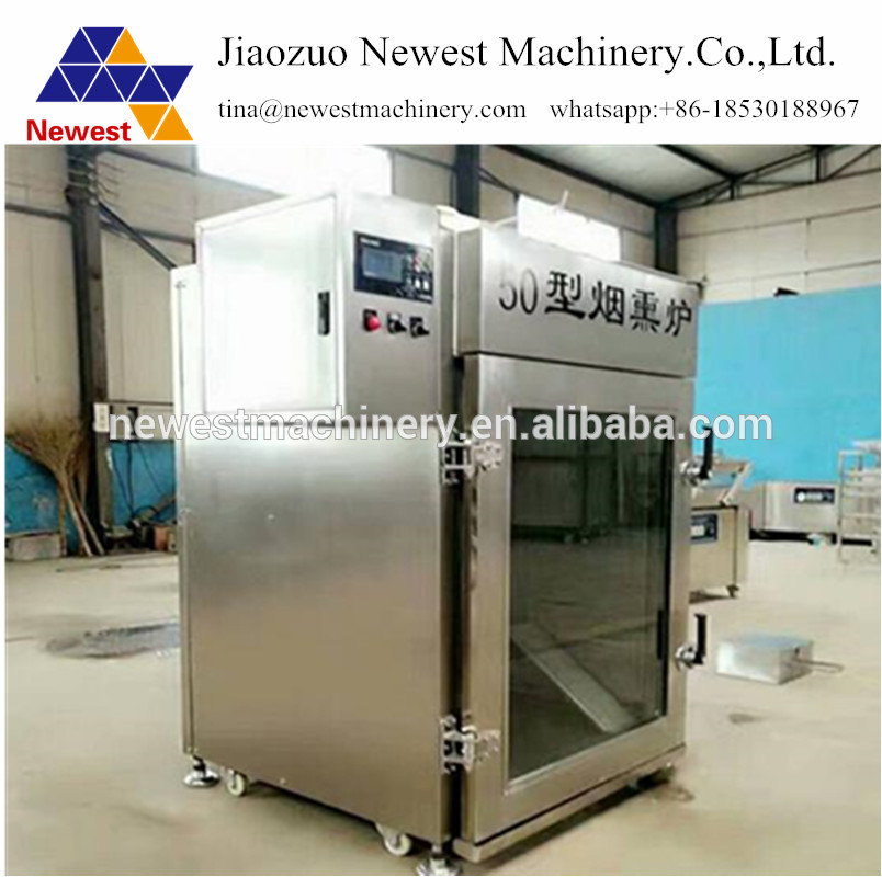 US $4899 0 |factory sale stainless steel sausage making machine/catfish  drying smoking machine/fish meat smoke oven for sale -in Food Processors  from