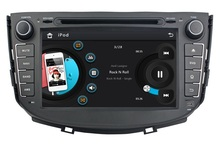HD 2 din 8″ Car DVD Player for Lifan X60 With Radio GPS Navigation USB Bluetooth IPOD TV USB SWC AUX IN Free 4GB SD Card