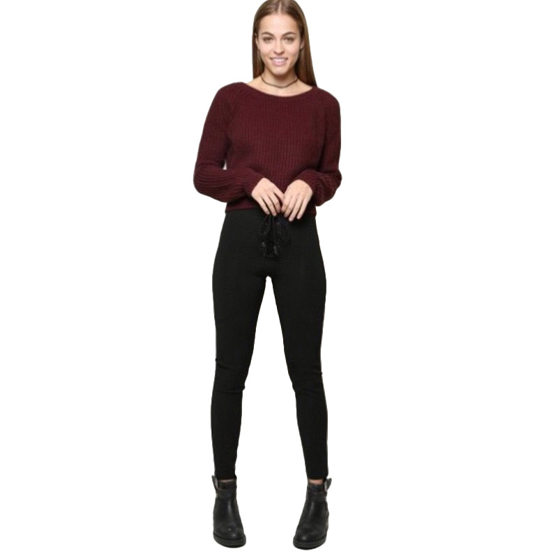 Autumn Winter Clothes <font><b>Women</b></font> <font><b>Sweater</b></font> Befree Harajuku Pullovers Outerwear Casual <font><b>Women</b></font> Sueter Mujer <font><b>Invierno</b></font> <font><b>2018</b></font> image
