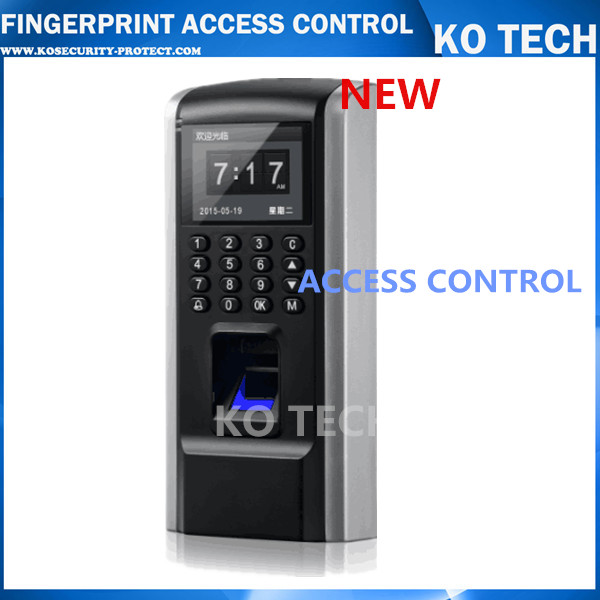 ФОТО Color Screen Fingerprint Access Control System With RFID Card Reader +TCP/IP+USB TCP/IP software