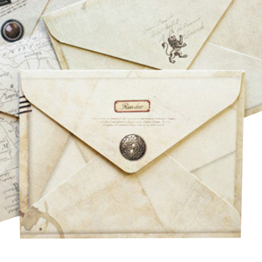 New 12 pcs/lot Mini Cute Ancien Paper Envelope Retro Vintage European Style For Card Scrapbooking Gift Diy Party Supplies