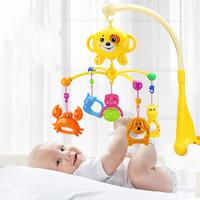 newborn infant toddler baby toys 0 12 months for children kids boys girls on bed bell electric cribs mobile musical box rattles