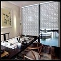 Free shipping customized size high- quality livingroom/office window blinds 100% blackout roller blinds customized size