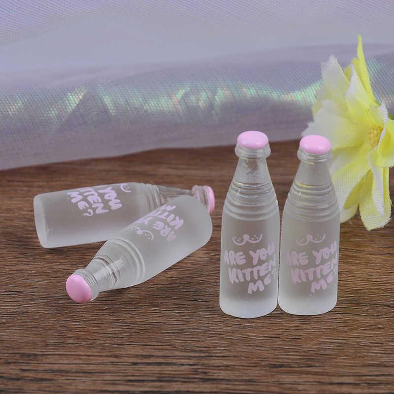 4 шт. 1:12 кукольный домик бутылка минеральной воды Миниатюрная игрушка кукла еда кухня гостиная Аксессуары детский подарок ролевые игры игрушки