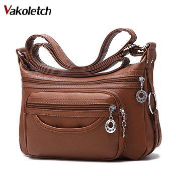16984d79536a 2019 брендовые кожаные сумки на плечо сумка-шоппер через плечо сумки для  женщин Роскошные женские сумки-мессенджеры дизайнерская женская сум.