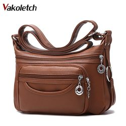 2019 Brand Leather Shoulder Bags Tote Bag crossbody bags for women Luxury Women Messenger Bags Designer Woman Handbag KL283
