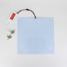 free shipping 180-265V LED Panel Lamp Square 10W 15W 18W 20W 25W 35W 5730 Magnetic LED Ceiling Panel Light Plate Aluminium Board