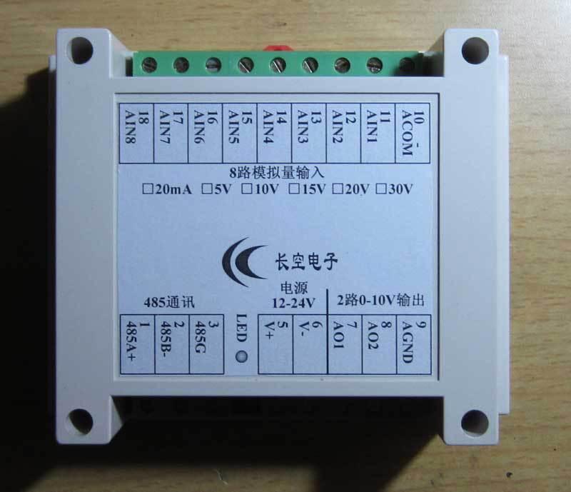 16ai Analog Data Acquisition 16di Switch Input Ethernet Io Module Rs485 232 Plc Extension Digital Cables