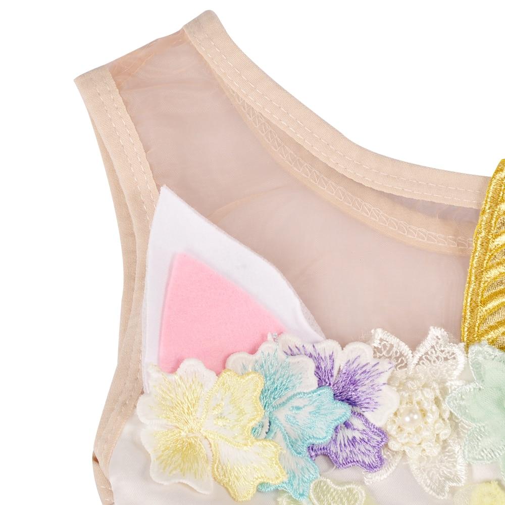 ᗑConice Nini bebé verano ropa azul rosa púrpura unicornio princesa ...