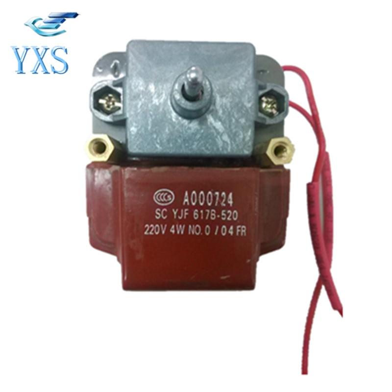 Freezer Refrigerator Motor Evaporator Motor YJF617B-520 Condenser Motor A000724 walk in cooler freezer condenser and evaporator systems with 12v 24v solar refrigetor fridge freezer compressor