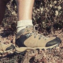 Clorts Для Мужчин's Пеший Туризм обувь Водонепроницаемый военные Армейские ботинки Для мужчин дышащий Охота обувь анти-скользкие горные ботинки для Для мужчин