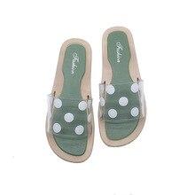 Summer fashion women transparent sweet sandals slippers beautiful beach shoes sandals
