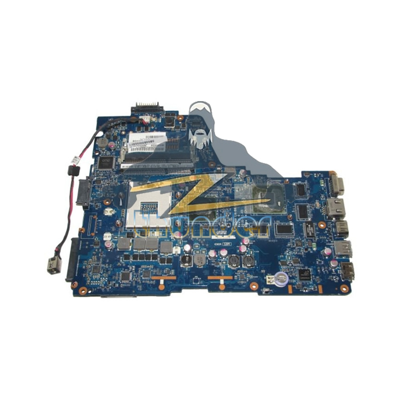 K000125700 LA-6831P for Toshiba A665 laptop motherboard HM65 with GPU VGA DDR3 k000125660 la 6831p a660 a665 motherboard tested by system
