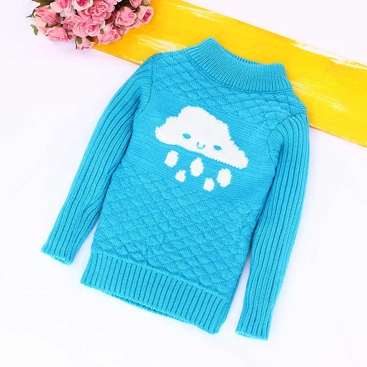 66bde1e1e Detail Feedback Questions about Boys Girls Turtleneck Solid Baby ...