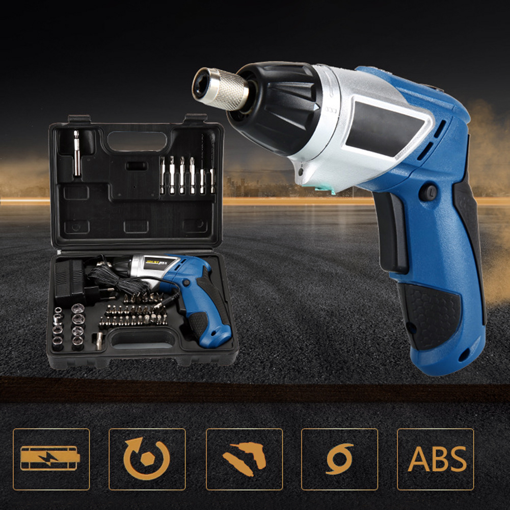 4.0 V Rechargeable Battery Cordless Driver Electric hand Drill bitshole electrical Screwdriver saw Wrench power tool part set EU dropshipping 4 8v electric screwdriver set multifunctional rechargeable hand drill household cordless drill with carry case