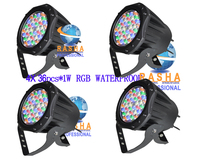 4X LOT Freeshipping NEW 36pcs1W RGBLED Par Light LED Par64 Light PAR Can For Concert Show