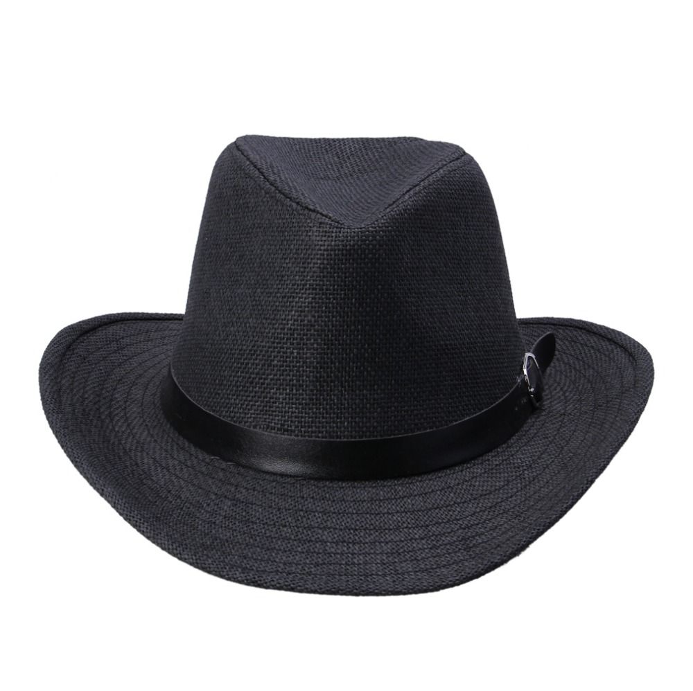 7799425cce5 LNPBD Kimisohand New Hot Fashion 6 Colors Summer Men Straw Hat Cowboy Hat  Men s Fashion Hot Sale-in Sun Hats from Apparel Accessories on  Aliexpress.com ...