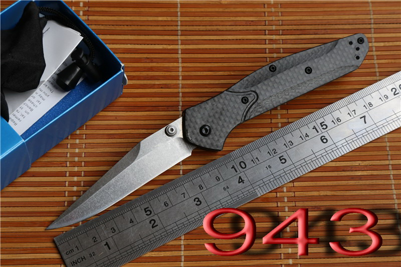 JUFULE OEM BM 940 943 carbon fiber S90v Axis folding font b knife b font Copper
