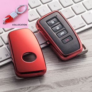 Image 3 - 2019 nowy miękki TPU klucz pokrywy skrzynka dla Lexus NX GS RX IS ES GX LX RC 200 250 350 LS 450H 300H Car Styling klucz ochrony brelok