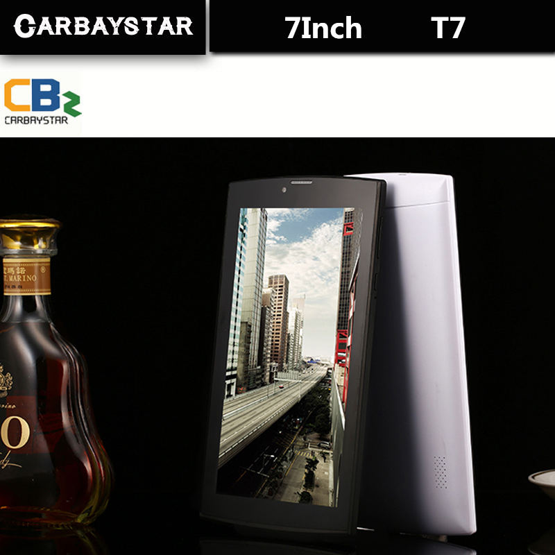 CARBAYSTAR 7 Inch 4G LTE T7 Call Phone Android smart Tablet pc Android 5 1 4GB