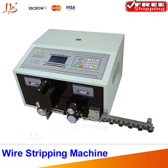 SWT508-C Computer Automatic Wire Stripping Machine, Wire Cutting Machine, Wire Cutting & Stripping Machine LCD Display caiman swt 50ex
