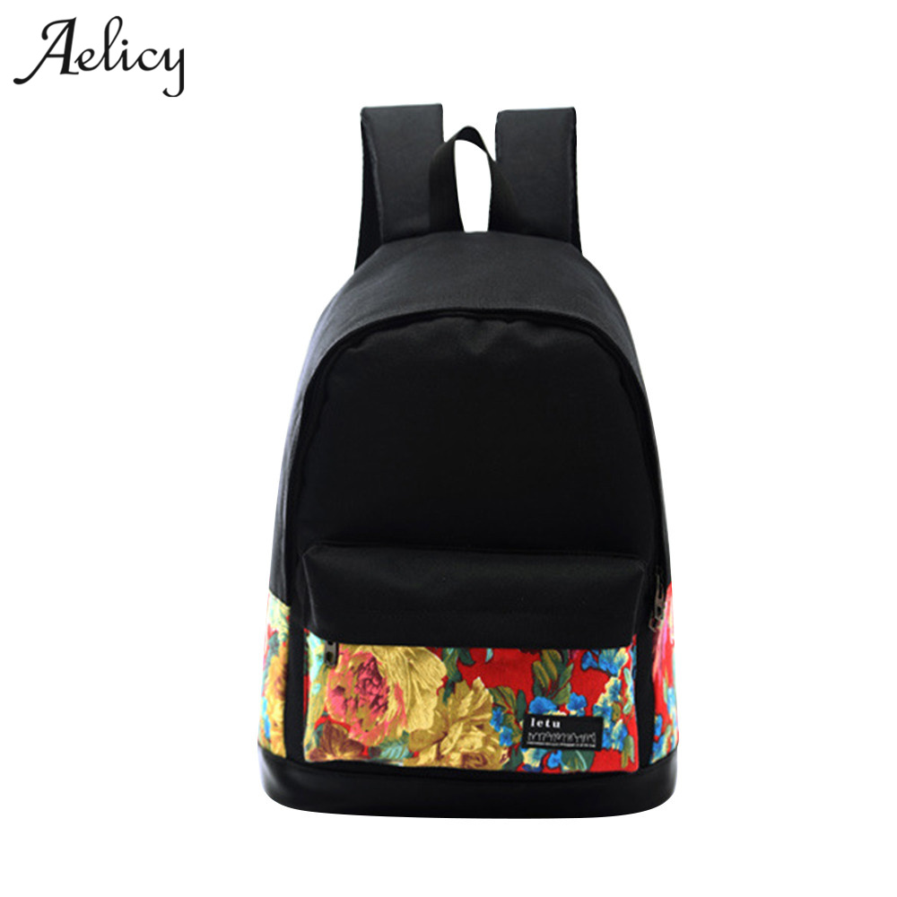 Aelicy High Quality Canvas Women Backpack Female Fashion Rucksack Brand Designer School Bag For Teenagers drawstring bagAelicy High Quality Canvas Women Backpack Female Fashion Rucksack Brand Designer School Bag For Teenagers drawstring bag