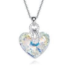 Buy heart crystal swarovski and get free shipping on AliExpress.com db915b772f0f