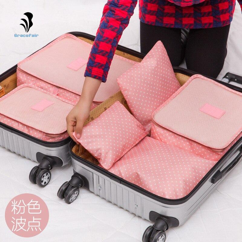 bolsa de viagem 6 sets Gênero : Mulheres