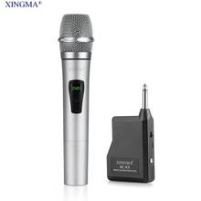 XINGMA PC-K3 микрофон беспроводной профессиональный динамический микрофон караоке Uhf с ресивером для системы записи студии плеера KTV микрофон микрофон беспроводной беспроводной микрофон студия звукозаписи