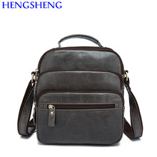 a15ec4b3eb Hengsheng promotion genuine leather men bags with high quality cow leather  men shoulder bags and leather men messenger bags
