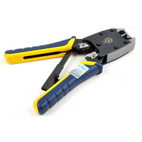 Original HT 500R Network/Telecom RJ45/RJ11 Crimping Tool 8P8C/6P4C/6P2C Crimping Plier With Cutter & Ratchet fast shipping