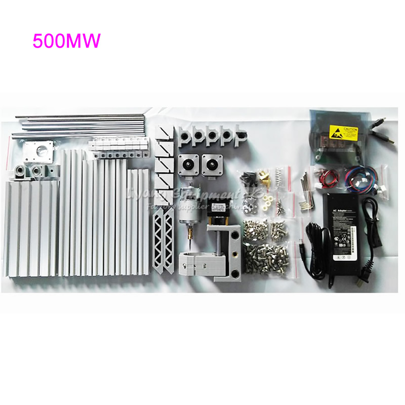 6pcs/lot CNC Router 1610 PCB Milling Machine with 500MW Laser Cutter Engraving Machine, Russia free tax free tax to russia desktop cnc milling machine 3040t dj router engraving drilling lathe